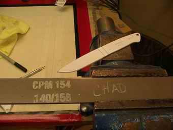 CPM 154 Knife Making Steel