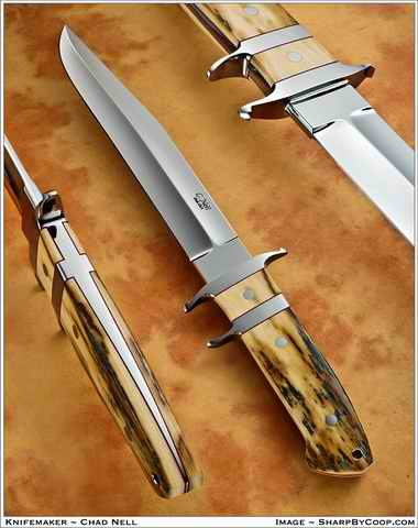 Big Bear Sub Hilt Fighter Mammoth Ivory