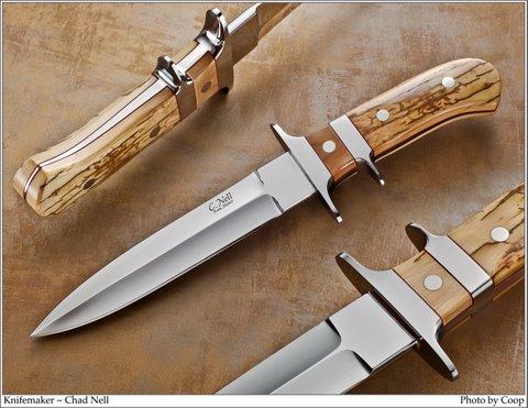 Sub Hilt Fighter | Custom | Hand Made Knife | Banner Photo