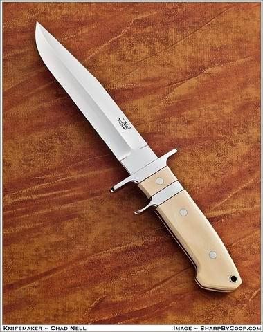 Sub Hilt Fighter with Mammoth Ivory Handle