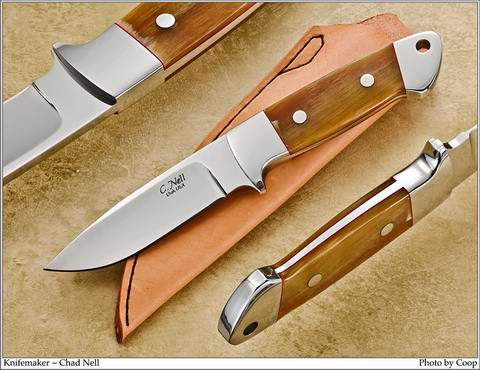 Loveless Style Drop Point Hunter