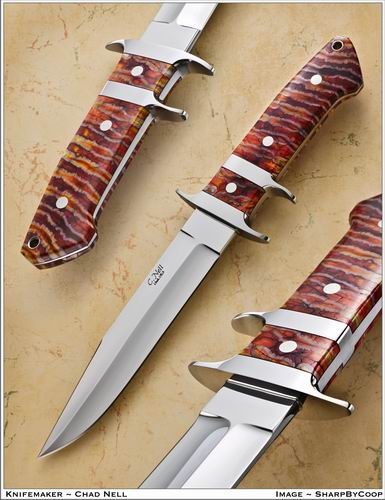Jr Bear Sub Hilt Fighter w/Mammoth Ivory Handle